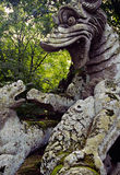 Bomarzo Royalty Free Stock Photography