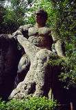 Bomarzo. Monster' s statue in bomarzo, italy Stock Photography