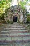 Bomarzo ogre. Bomarzo Lazio Italy the park of monsters ogre Stock Photos