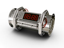 Bomb. 3d rendering of a bomb Royalty Free Stock Images