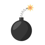 Bomb april fools day. Illustration eps 10 vector illustration