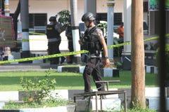 Bomb attack Stock Photo