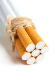 Bomb Cigarette Royalty Free Stock Photography