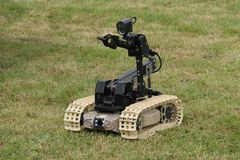 Bomb Disposal Work. A Remote Control Device Used for Bomb Disposal Work Stock Image