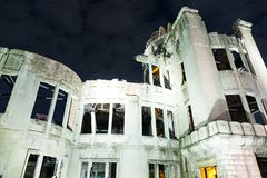 Bomb Dome in Hiroshima of Japan Royalty Free Stock Photography