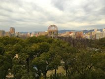 Bomb Dome in Hiroshima Japan Royalty Free Stock Images