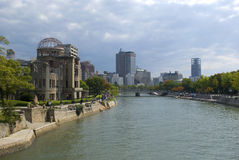 A-Bomb Dome, Hiroshima, Japan Stock Image