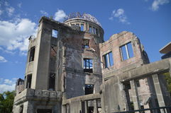 A-Bomb Dome In Hiroshima Japan 2016 royalty free stock photo
