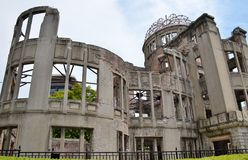 The A-Bomb Dome Hiroshima Prefectural Industrial Promotion Hall Stock Image