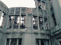 A Bomb Dome Hiroshima World War II Memorial Japan Stock Image