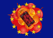 Bomb europe Stock Images