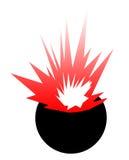 Bomb explosion Stock Photo