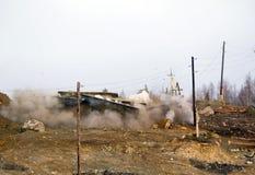 Bomb explosion Stock Image