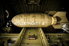 Bomb for Hitler from B-17 Stock Photography