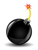 Bomb icon Stock Images