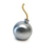 Bomb isolated 3d rendering Stock Photos