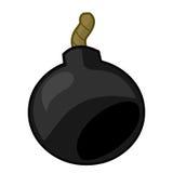 Bomb isolated illustration. On white background Royalty Free Stock Image