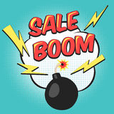 Bomb pop art mega sale Royalty Free Stock Photos