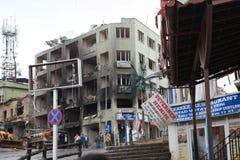 BOMB IN REYHANLİ, HATAY Stock Photo