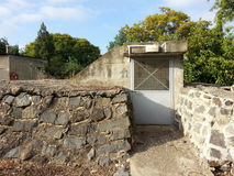 Bomb shelter Golan heights Israel Royalty Free Stock Image