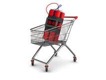 Bomb shopping Stock Photo