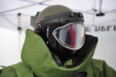 Bomb Squad Helmet Royalty Free Stock Image