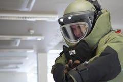 Bomb technician Stock Image