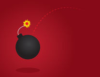 Bomb Thrown Stock Photography