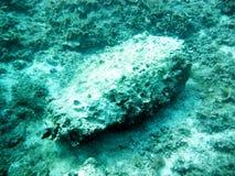 Bomb under sea Stock Photo
