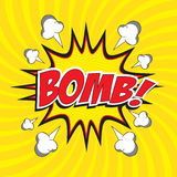 Bomb! wording Stock Photos