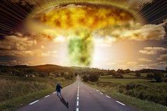 Bomba atomica fotografie stock libere da diritti