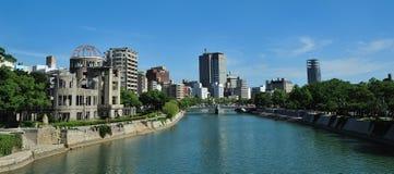 Bomba atomica di Hiroshima Giappone Fotografia Stock Libera da Diritti