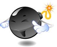 bomba bombarduje kreskówek serie Zdjęcie Stock
