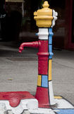 Bomba de água da rua Imagens de Stock