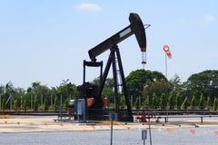 Bomba de óleo Fotografia de Stock Royalty Free