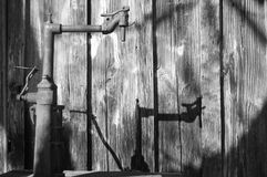 Bomba de agua imagen de archivo