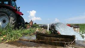 Bomba de agua del tractor para la irrigación de la inundación