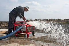 Bomba de agua industrial fotos de archivo libres de regalías