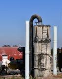 Bomba de agua de la agricultura Agua de la bomba foto de archivo libre de regalías