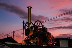 Bomba de agua locomotora de Stoom Imágenes de archivo libres de regalías