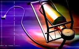 Bomba de aire con el pedal Imagen de archivo libre de regalías