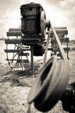 Bomba de alimentación del agua Foto de archivo