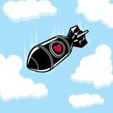 Bomba de amor de queda Fotografia de Stock