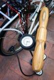 Bomba de bicicleta Imagem de Stock