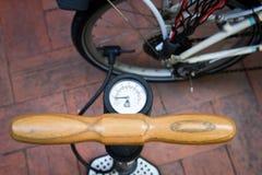 Bomba de bicicleta Foto de Stock Royalty Free