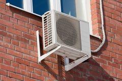 Bomba de calor do condicionamento de ar Fotografia de Stock Royalty Free