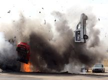 Bomba de carro Fotografia de Stock