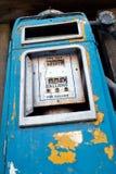 Bomba de combustível velha Foto de Stock Royalty Free