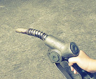 Bomba de gás velha (estilo e ruído do efeito do vintage adicionados) Imagens de Stock
