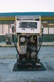 Bomba de gas abandonada Foto de archivo libre de regalías